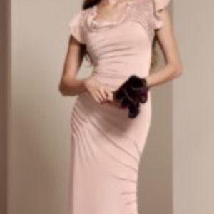 White by Vera Wang Blush Bridesmaid dresses
